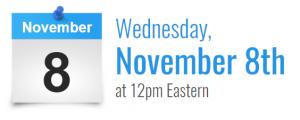 November 8 Webinar